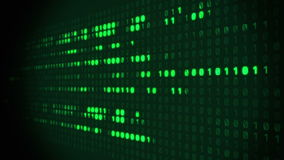 Binary Matrix Background stock footage