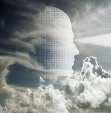 Binary Mind Stock Image