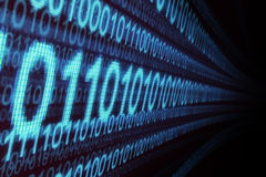 Binary numbers Royalty Free Stock Images