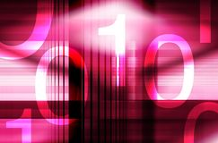 Binary numbers Royalty Free Stock Image