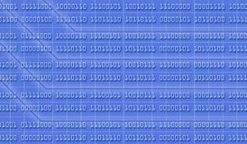 Binary numbers background Royalty Free Stock Photography