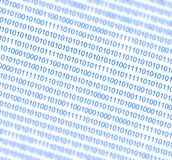 Binary numbers background Stock Image