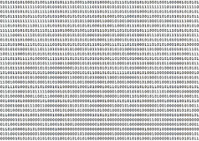 Binary Numbers Stock Photo