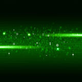 Binary Numbers Green Background Stock Photography