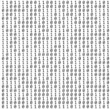 Binary Numbers Texture Royalty Free Stock Photo