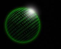 Binary planet. Royalty Free Stock Photos