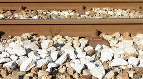 Binary railway horizontal Stock Images