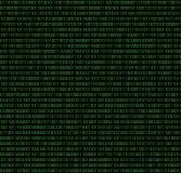 Binary seamless pattern Stock Photography