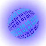 Binary Sphere Stock Images