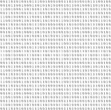 Binary system code vector grey background Stock Photo