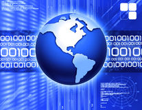 Binary technology Stock Photo