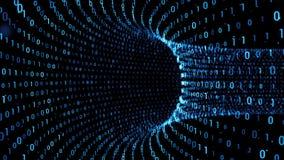 Binary torus background stock video
