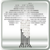 Binary tree Stock Image