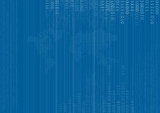 Binary Vector Background Royalty Free Stock Image