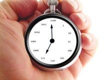 Binary watch Stock Photo
