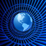 Binary World Stock Images