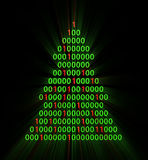 Binary xmas tree Royalty Free Stock Photography