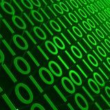 binary zieleń Zdjęcie Stock