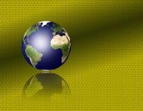 binary ziemia royalty ilustracja