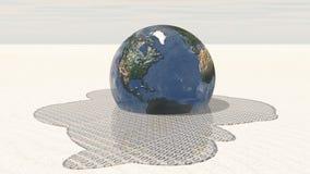 binary ziemia topi ilustracji