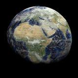 binary ziemski kuli ziemskiej tekst Obrazy Royalty Free