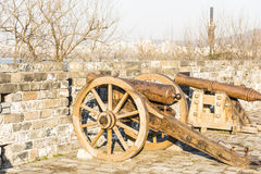 Binaural kanon royaltyfria foton