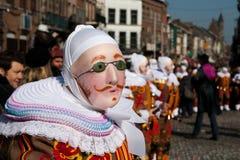 binche carnaval de Стоковое фото RF