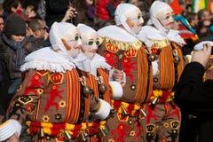 binche carnaval de Στοκ εικόνες με δικαίωμα ελεύθερης χρήσης