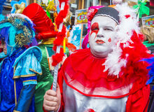 2017 Binche Carnival Royalty Free Stock Photography