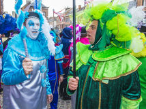 2017 Binche Carnival Stock Image