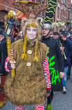 2017 Binche Carnival Stock Photos