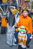 2017 Binche Carnival Stock Photography