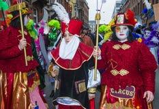 2017 Binche Carnival Stock Images