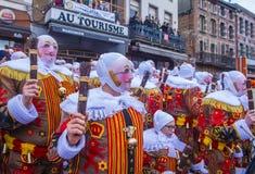2017 Binche Carnival Royalty Free Stock Image