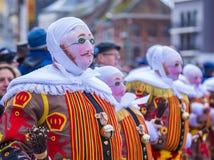 2017 Binche Carnival Royalty Free Stock Photo