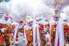 2017 Binche Carnival Royalty Free Stock Photography
