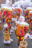 2017 Binche Carnival Stock Photo