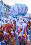 2017 Binche Carnival Royalty Free Stock Photos