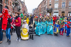 2017 Binche Carnival Royalty Free Stock Image