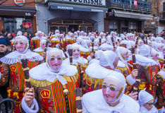 2017 Binche Carnival Stock Images