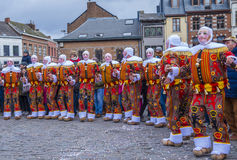 2017 Binche Carnival Royalty Free Stock Photos