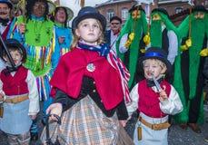Binchspitzen-Karneval 2017 stockbild
