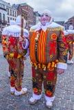 Binchspitzen-Karneval 2017 stockfotos