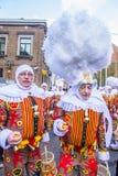 Binchspitzen-Karneval 2017 lizenzfreies stockfoto
