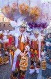 Binchspitzen-Karneval 2017 stockbilder