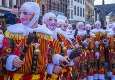 Binchspitzen-Karneval 2017 lizenzfreie stockfotos