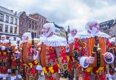 Binchspitzen-Karneval 2017 lizenzfreie stockfotografie