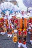 Binchspitzen-Karneval 2017 stockfoto