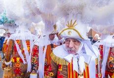 Binchspitzen-Karneval 2017 stockfotografie