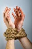 Bind hand royalty-vrije stock foto's